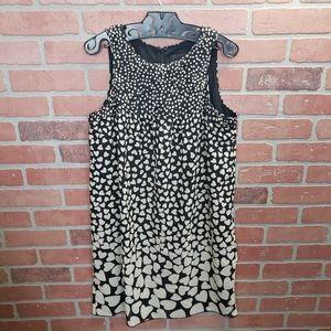 Anna Sui Heart Print Mini Dress Size Small
